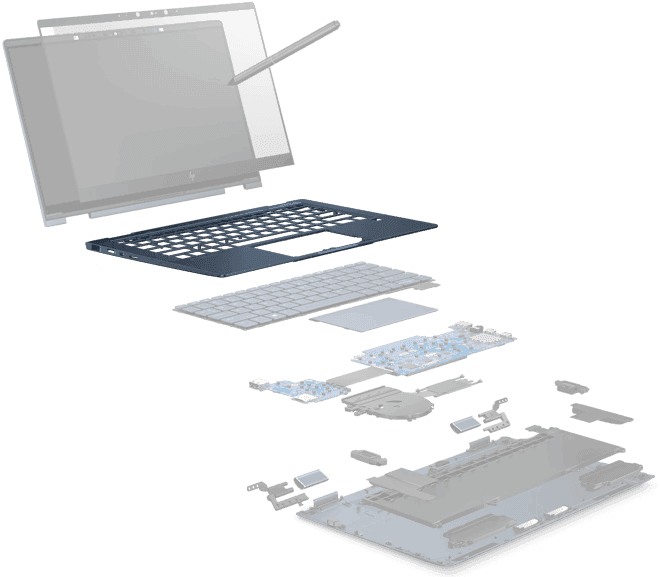 Chassis | HP Elite Dragonfly