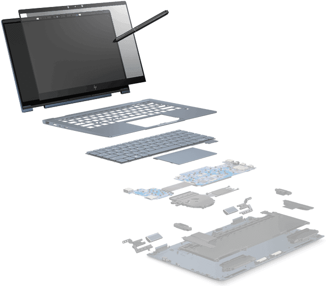 TELA E CANETA | HP Elite Dragonfly