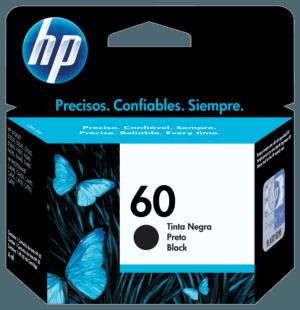 Cartucho de Tinta HP 60 Preto Original